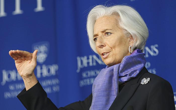 LAGARDE – FMI  è spaventata dalla spesa pensionistica italiana