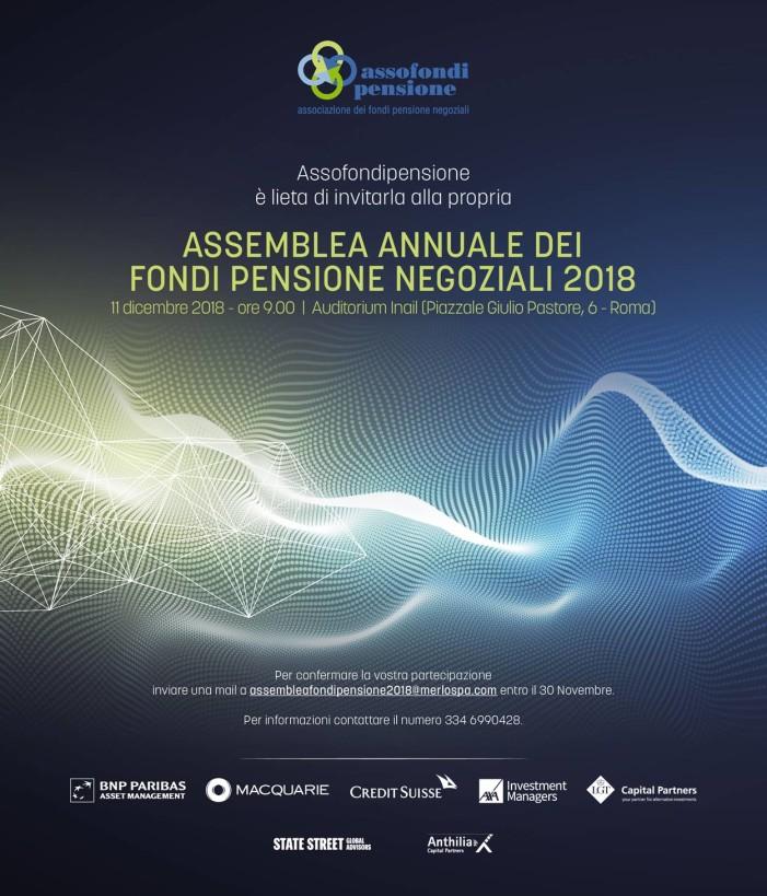 Assemblea Assofondipensione 11 Dicembre 2018