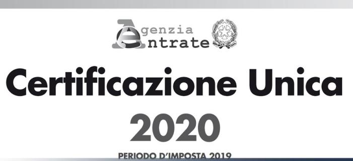 On line la Certificazione unica Inps 2020 per i pensionati