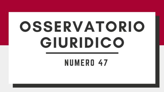Mefop: Osservatorio Giuridico n. 47